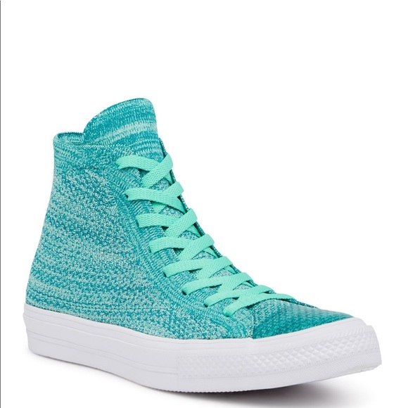 76e1eec7ebaf96 Converse Chuck x Nike Flyknit HI-TOP UNISEX Green